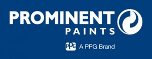 PP-PPG Brand Logo on Blue